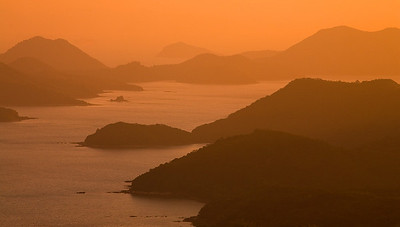 Hong Kong Sunset and Sunrise
