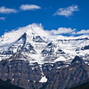 Mt. Robson, highest in the Canadian Rockies.