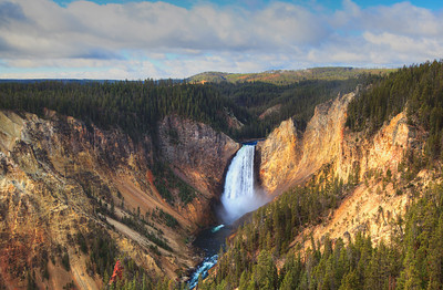 Lower Falls, Grand Canyon of Yellowstone