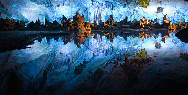 Lime Cave in Guilin, Guangxi, China