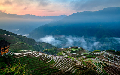 Ping On Village, LongSheng Rice Terrace, Guilin