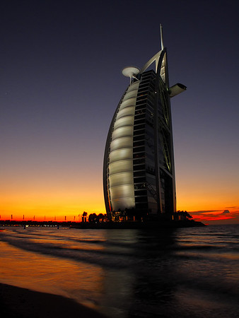 The Burj Al Arab hotel, Dubai